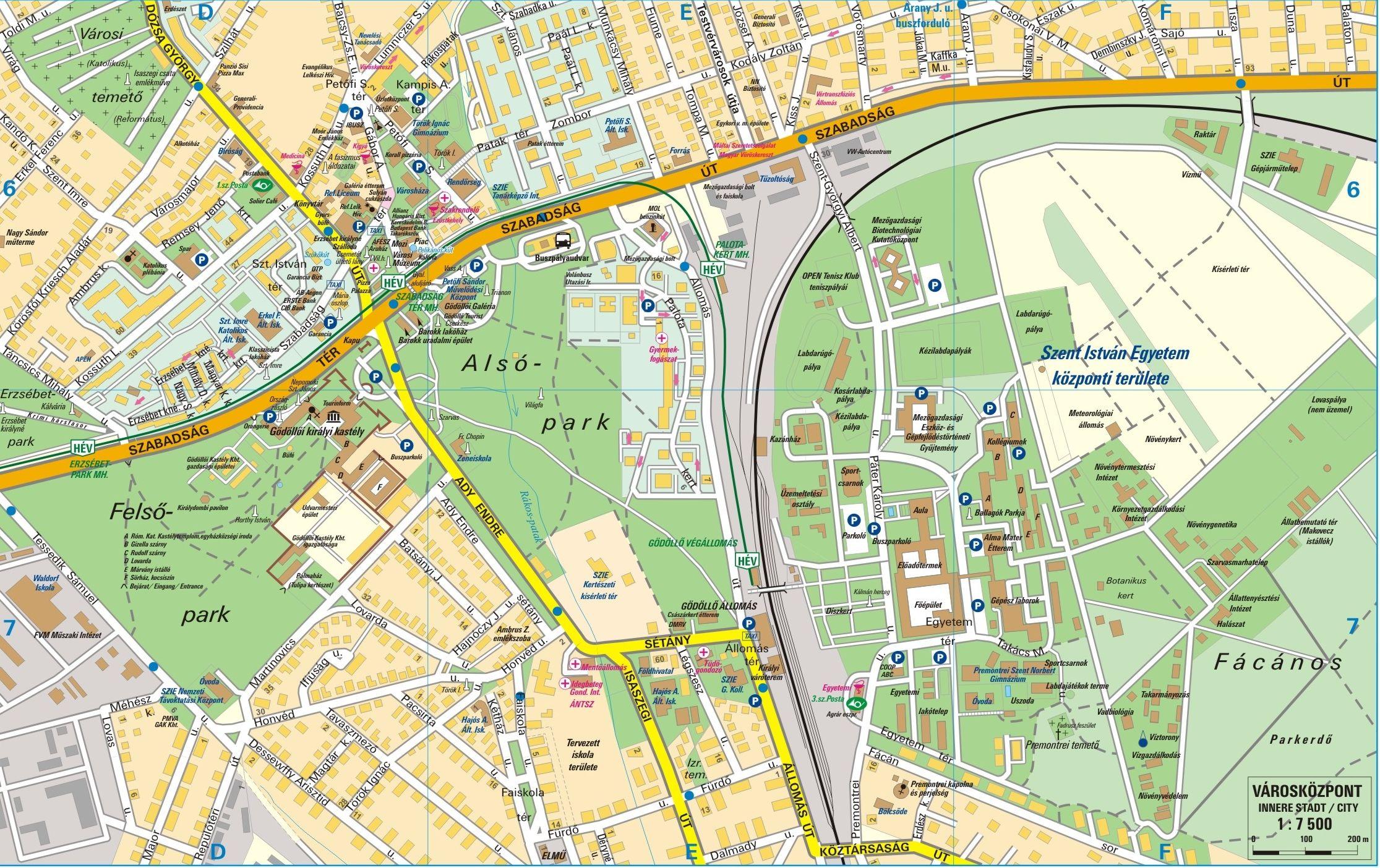 gödöllő térkép Blog Archive » Városismereti túra Gödöllőn gödöllő térkép