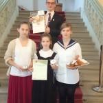Erzsébet szavalóverseny: Csörget Bence 1. helyezett!